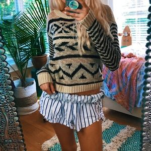 Sweaters - boho hikers knit sweater